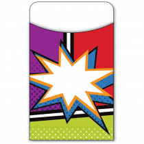 CD-121012 - Super Power Library Pockets in Library Cards