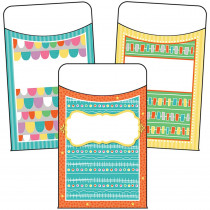 CD-121018 - Up And Away Library Pocket Gr Pk-8 in Organizer Pockets