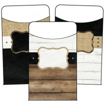 CD-121122 - Industrial Chic Library Pockets School Girl Style in Library Cards