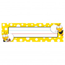CD-122033 - Buzz-Worthy Bees Nameplates in Name Plates