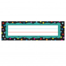 CD-122035 - Colorful Chalkboard Nameplates in Name Plates