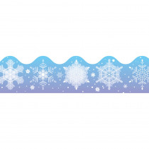 CD-1225 - Border Snowflakes Scalloped in Holiday/seasonal