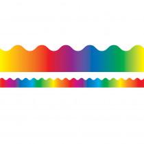 CD-1232 - Border Rainbow Scalloped in Border/trimmer