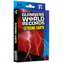 CD-134047 - Guinness World Records Extreme Earth Fact Cards in Earth Science