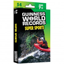 CD-134051 - Guinness World Records Super Sports Fact Cards in Health & Nutrition
