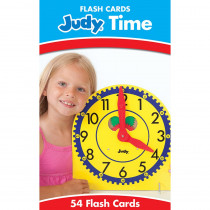 CD-134052 - Judy Time Flash Cards in Time