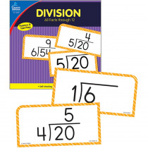 CD-134056 - Division Facts Thru 12 Flash Cards in Flash Cards