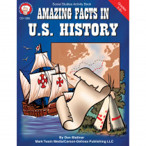 CD-1385 - Amazing Facts In Us History Gr 5-8& Up in History