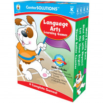 CD-140053 - Language Arts Learning Games Gr K Centersolutions in Language Arts