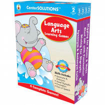 CD-140055 - Language Arts Learning Games Gr 2 Centersolutions in Language Arts
