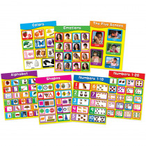 CD-144131 - Early Learning Chartlet Set in Miscellaneous