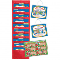 CD-144147 - Language Arts File Folder Games To Go Set Gr 1 in Language Arts