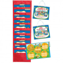 CD-144148 - Language Arts File Folder Games To Go Set Gr 2 in Language Arts