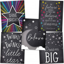 CD-145086 - Stars Chart Set in Motivational