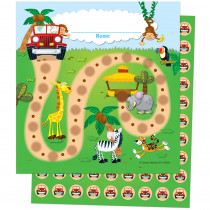 CD-148004 - Jungle Safari Mini Incentive Charts in Incentive Charts