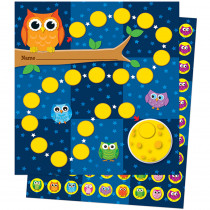 CD-148009 - Owls Mini Incentive Charts in Incentive Charts