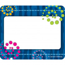 CD-150001 - Dots N Swirls Name Tags in Name Tags