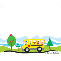 CD-150008 - School Bus Name Tags in Name Tags