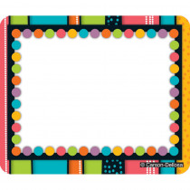 CD-150011 - Stylin Stripes Name Tags in Name Tags