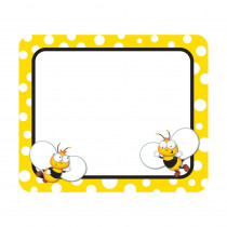 CD-150044 - Buzz-Worthy Bees Name Tags in Name Tags