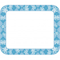 CD-150055 - Snowflakes Nametags Gr Pk-5 in Name Tags