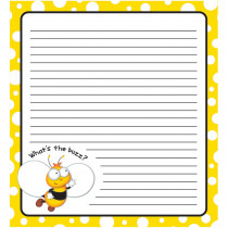 CD-151080 - Buzz-Worthy Bees Notepad in Note Books & Pads