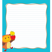 CD-151089 - Fall Fun Shape Notepad Gr Pk-8 in Note Pads