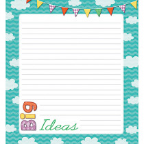 CD-151096 - Up And Away Shape Notepad Gr Pk-8 in Note Pads