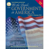 CD-1550 - We The People Government In Amer Gr 5-8 & Up in Government