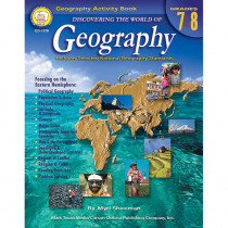CD-1576 - Discovering The World Of Geography Gr 7-8 in Geography