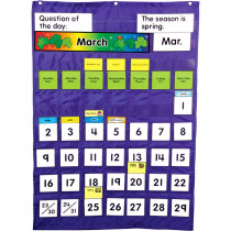 CD-158003 - Complete Calendar & Weather Pocket Chart in Pocket Charts