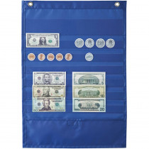 CD-158032 - Deluxe Money Pocket Chart in Pocket Charts