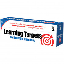 CD-158060 - Gr 3 Learning Targets & Essential Questions in Games & Activities