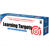 CD-158061 - Gr 4 Learning Targets & Essential Questions in Games & Activities