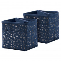 CD-158185 - Tabletop Storage Navy W/ Slvr Stars in Storage