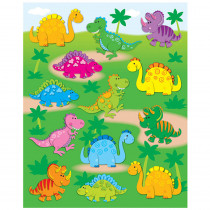CD-168018 - Dinosaurs Shape Stickers 78Pk in Stickers