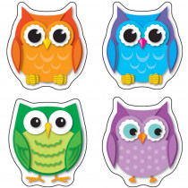 CD-168078 - Colorful Owls Stickers in Stickers