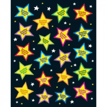 CD-168079 - Sunday School Star Stickers in Inspirational