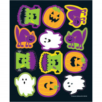 CD-168189 - Halloween Shape Stickers in Holiday/seasonal