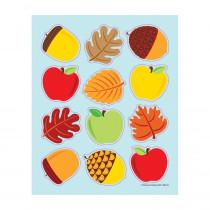 CD-168191 - Apples Acorns & Leaves Shape Stickers in Holiday/seasonal