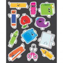 CD-168229 - School Tools Shape Stickers Gr Pk-5 in Stickers