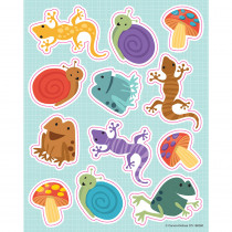 CD-168260 - Nature Explorers Shape Stickers in Stickers