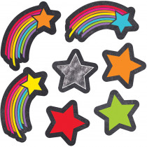 CD-168267 - Stars Starbursts Shape Stickers School Girl Style in Stickers