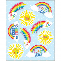 CD-168268 - Hello Sunshine Motivational Sticker in Stickers