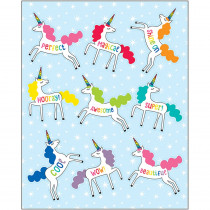 CD-168269 - Unicorns Shape Stickers Hello Sunshine in Stickers