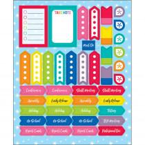 Hello Sunshine Planner Accents Sticker Pack, 252 Stickers - CD-168283 | Carson Dellosa Education | Stickers