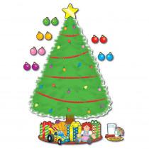 CD-1779 - Bulletin Board Set Big Christmas Tree in Holiday/seasonal