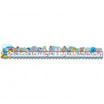 CD-1787 - Bulletin Board Set Alphabet Train Zaner-Bloser in Language Arts
