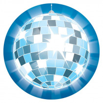 CD-188035 - Disco Ball Two Sided Decoration in Two Sided Decorations