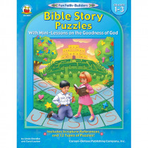 CD-2023 - Bible Story Puzzles Gr 1-3 in Inspirational